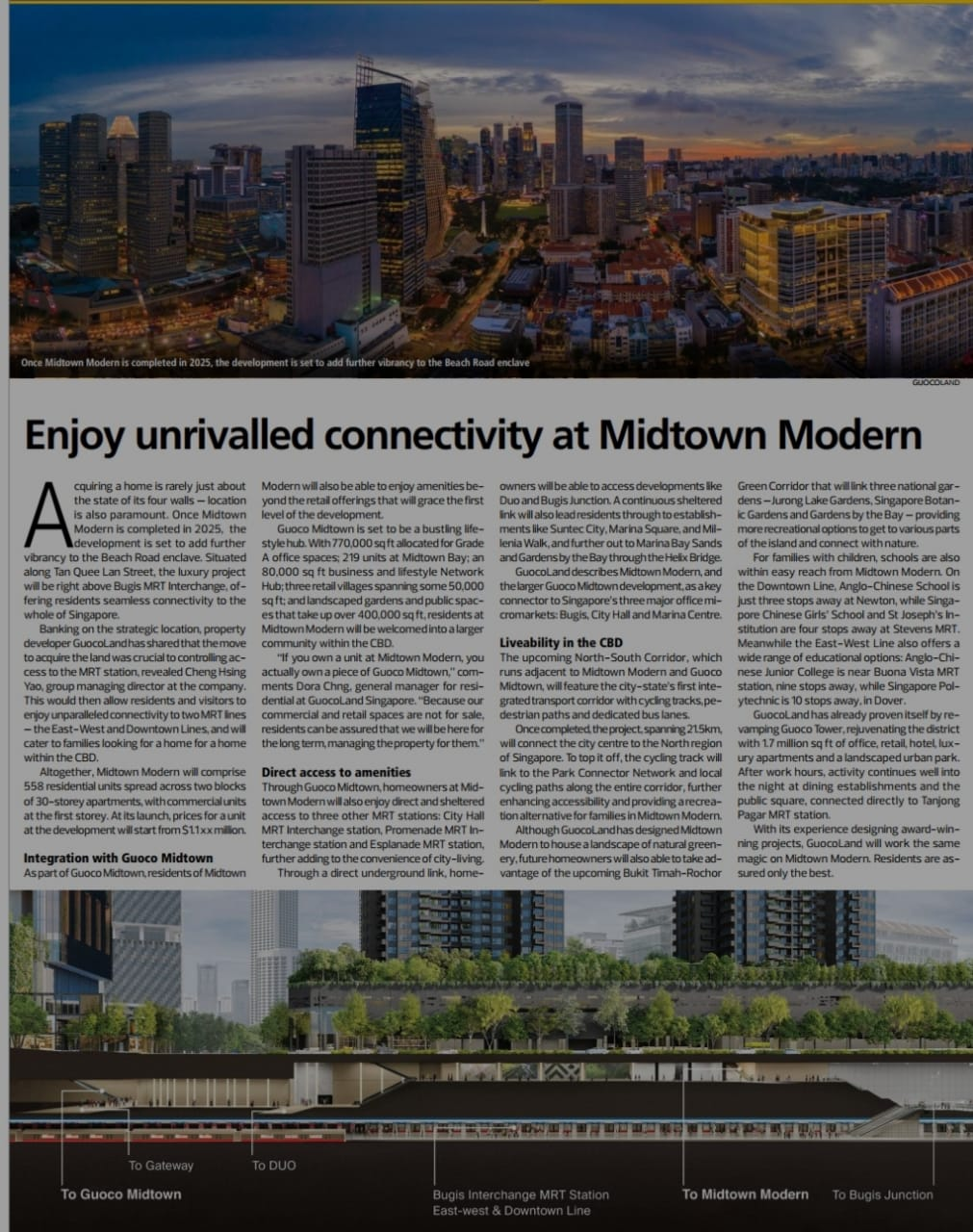 unrivalled connectivity at midtown modern